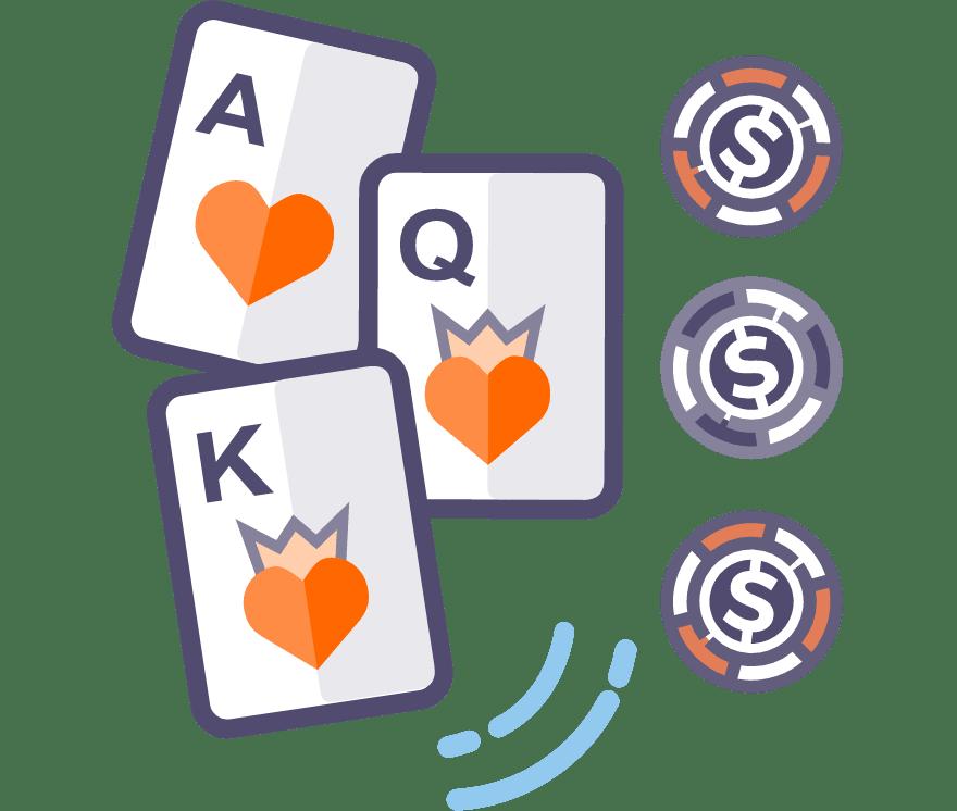 Los 56 mejores sitios de Casino de Póker de tres cartas en línea en Perú